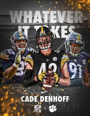 Cade Denhoff Steelers Swap