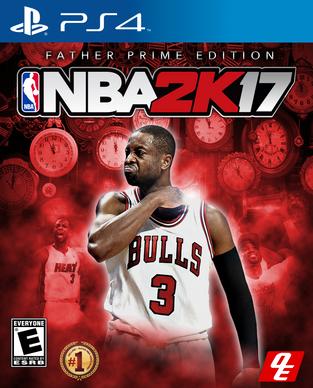 NBA 2k18 Father Prime Edition