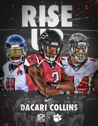 Dacari Collins Falcons Jersey Swap