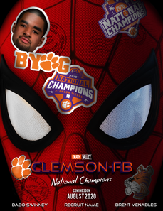 Spiderman: Far From Clemson