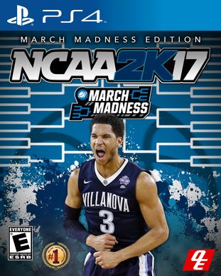 NCAA 2k17 Villanova Edition