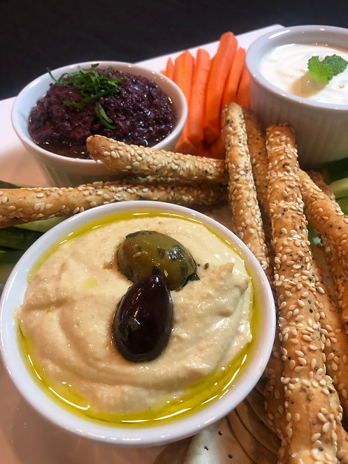Home made dips - $6.50pp