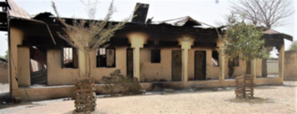 Nigeria Borno State 9 school destroyed.j