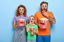 family-members-enjoy-watching-television
