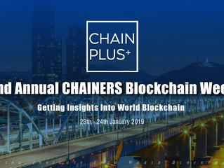 Top Korean Enterprises Accelerate the Blockchain of Korea 2019/1/23-24 CHAIN PLUS+ Blockchain Summit