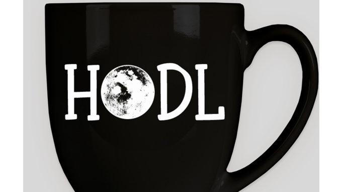 HODL To The Moon Mug
