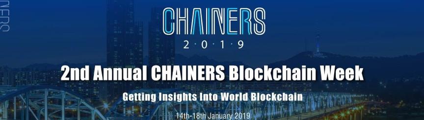 2nd annual chainers blockchain week