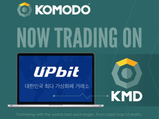 Upbit Exchange Now Supports Komodo Wallet