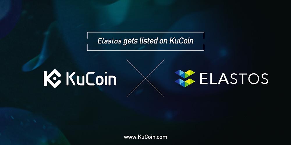 elastos gets listed on KuCoin