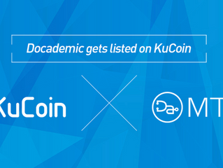 #Docademic (#MTC) Gets Listed on #KuCoin
