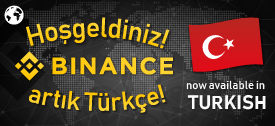 binance is now available in turkish