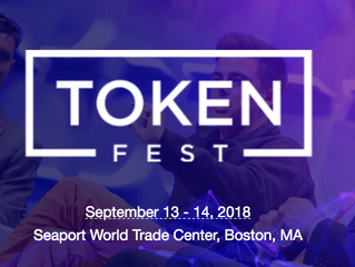 #TokenFest Boston Programming Update - Only 15 Days Left! Get Your Tickets Now!