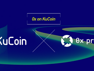 #0x (#ZRX) Gets Listed on #KuCoin!