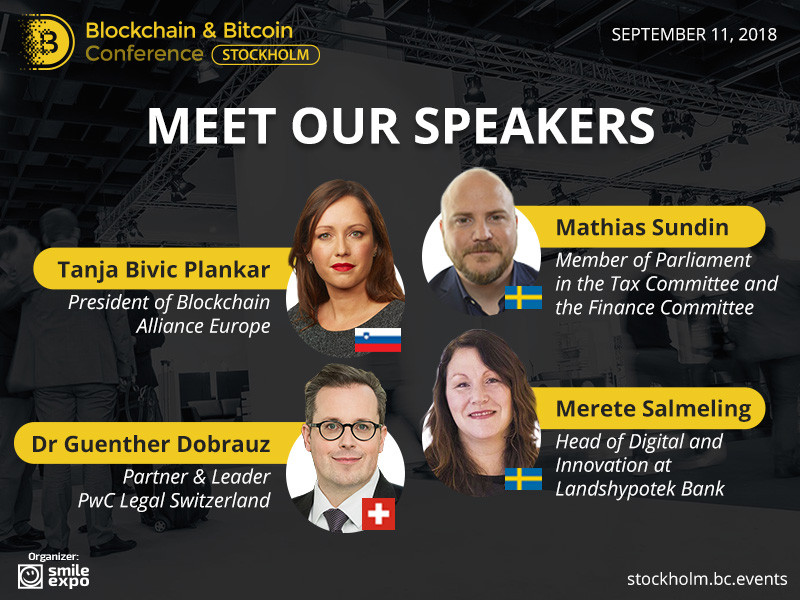 Blockchain and bitcoin conference stockhom