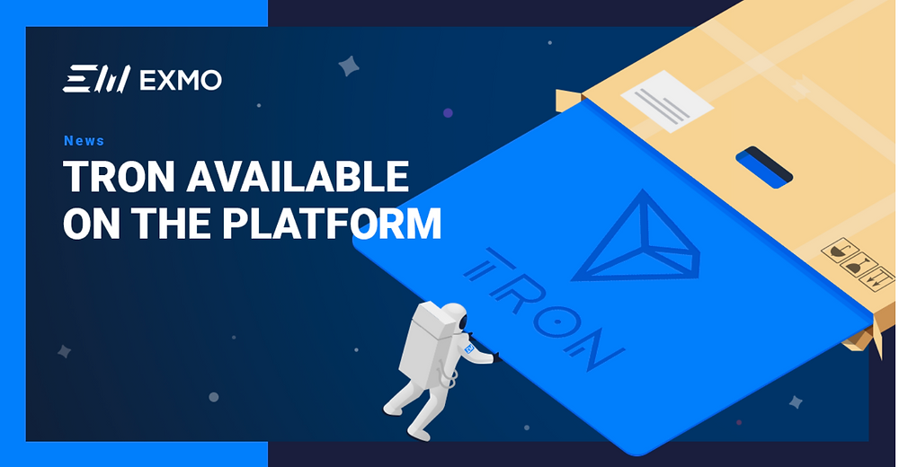 EXMO lists Tron (TRX)