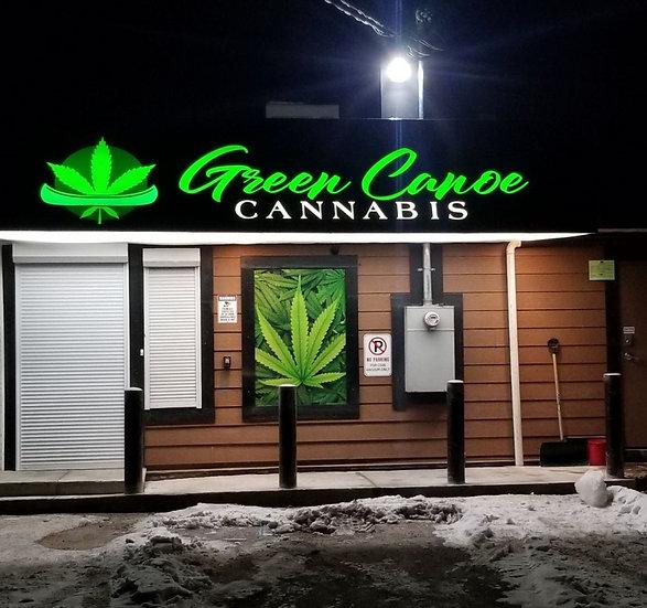 Green Canoe Cannabis Dispensary - Canoe, BC