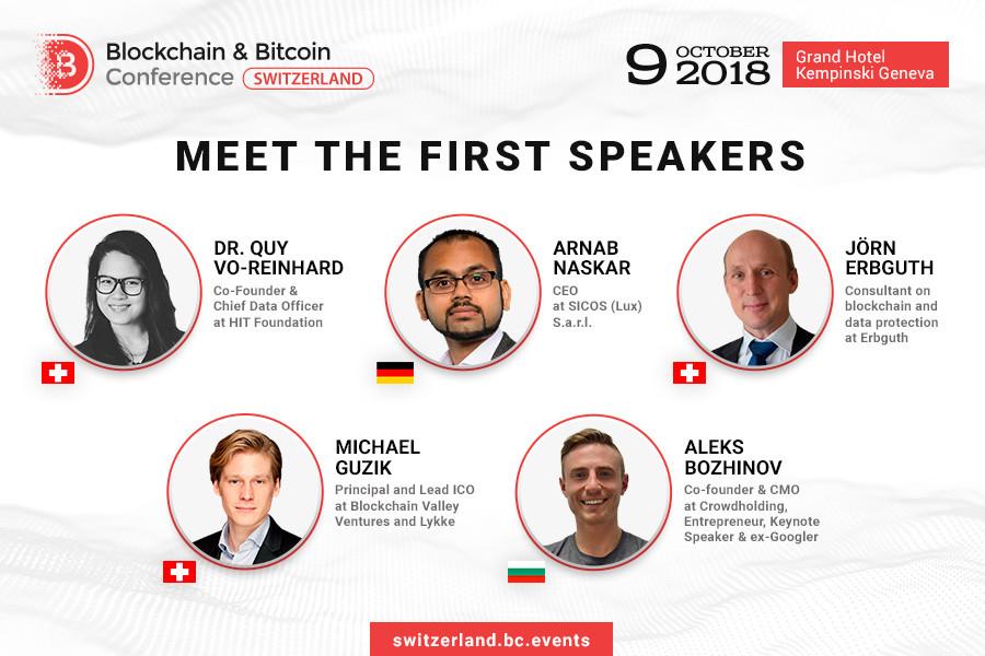Blockchain and Bitcoin Conference Switzerland