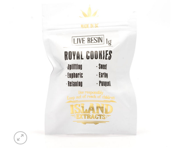 Royal Cookies Live Resin - Hybrid Strain - by Island Extracts