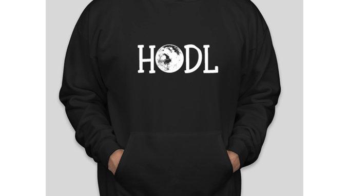 HODL To The Moon Hoodie Sweatshirt