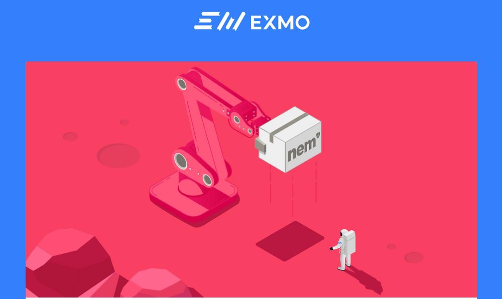 NEM (XEM) added to EXMO