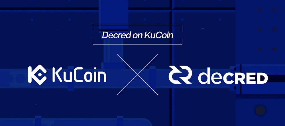 Decred (DCR) listed on KuCoin