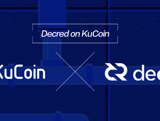 #Decred (#DCR) Gets Listed on #KuCoin!