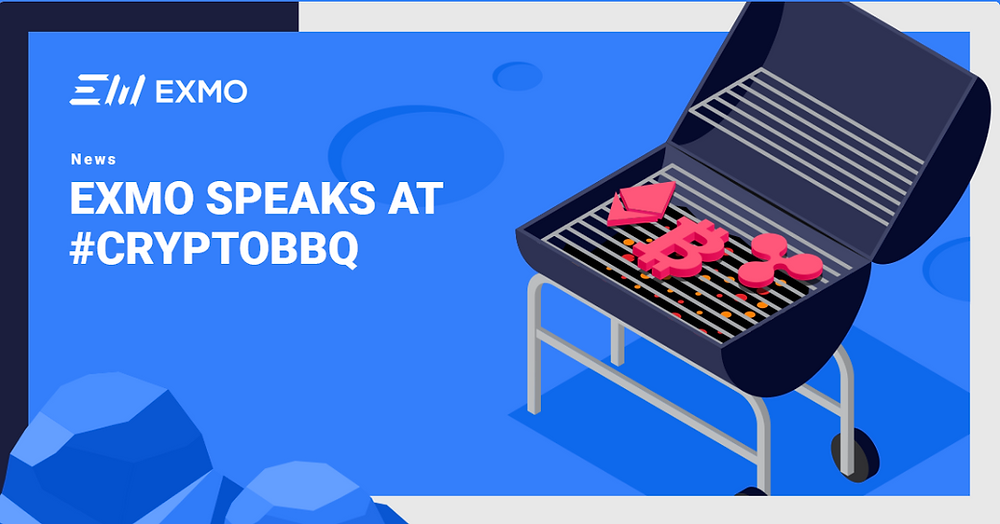 EXMO speaking at CryptoBBQ conference Moscow