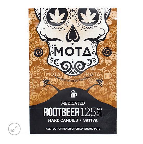 Root Beer Cannabis Hard Candies - 125mg THC - Sativa