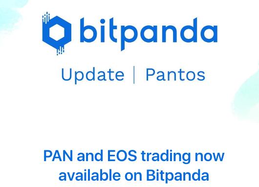 bitpanda adds PAN & EOS