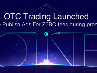 #CoinEx launched OTC Trading: Trade & Publish Ads For ZERO fees!