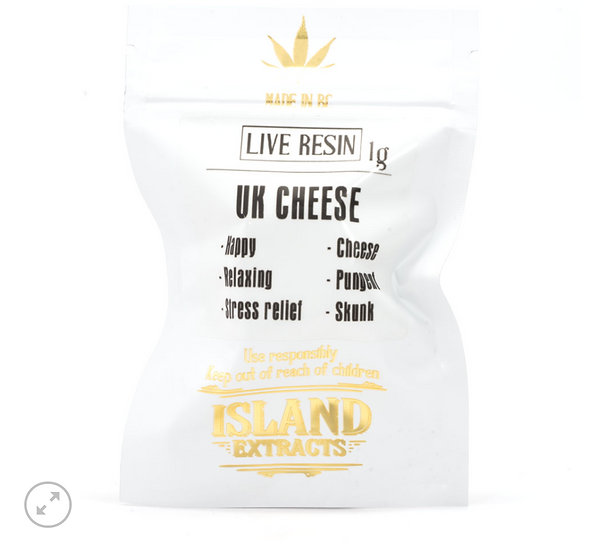 UK Cheese Live Resin By Island Extracts