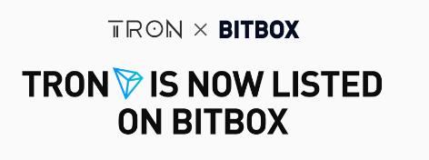 bitbox lists tron trx