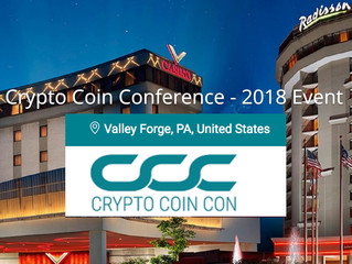 Make Sure To Get Your Tickets To @CryptoCoinCon - The Premier #Cryptocurrency Event Of The Summer