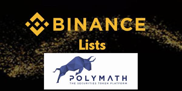 Binance lists Polymath (POLY)