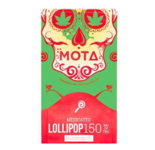 Watermelon Lollipop 150mg THC (Mota)