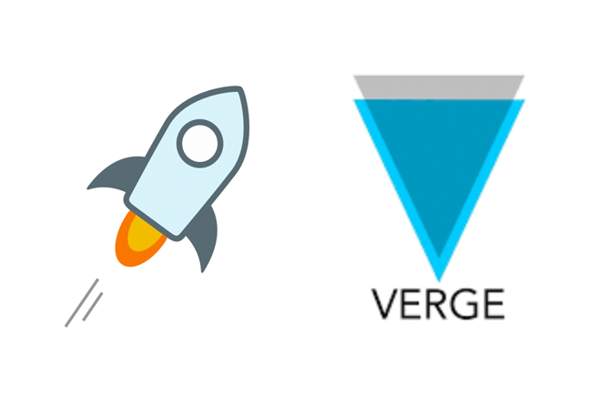 verge vs stellar for top coin