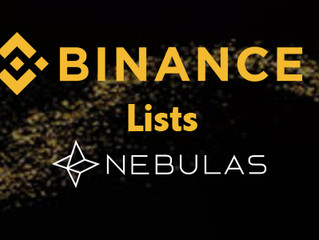 #Binance Will List #Nebulas (NAS) on 2018/06/28