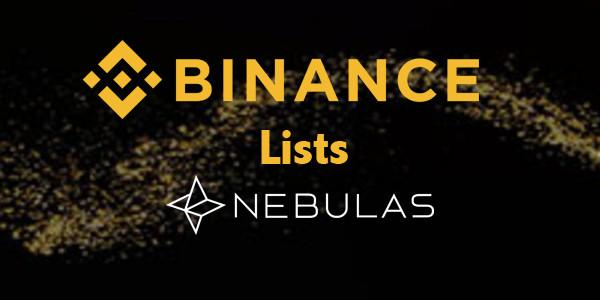 binance lists nebulas