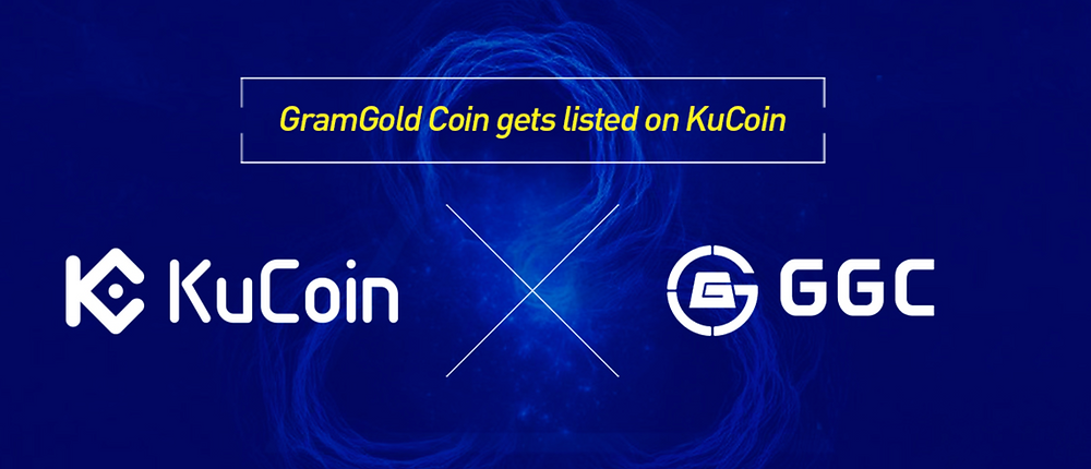 gramgoldcoin listed on kucoin