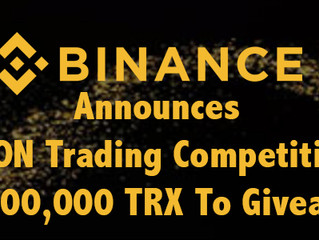 #TRON Trading Competition: 10,000,000 #TRX to Give Away!