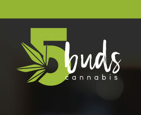 5 Buds Cannabis Dispensary & Delivery - North Battleford, Yorkton, & Warman, SK