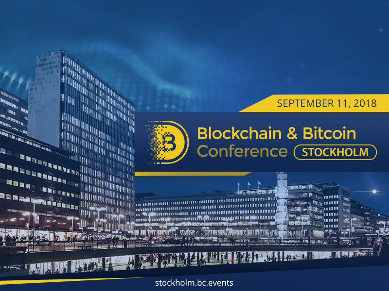 Blockchain and Bitcoin Conference Stockholm Sweden