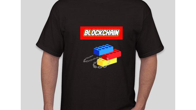 Blockchain Brick Classic Tshirt