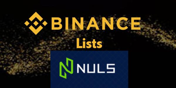 Binance lists NULS