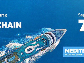 2,500 Crypto Industry Representatives Sailing Through The Mediterranean With The Blockchain Cruise.