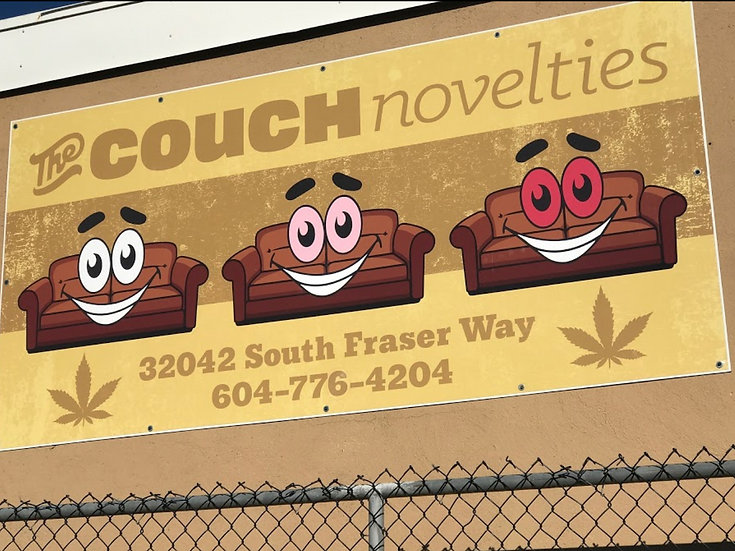 The Couch Novelties - Abbotsford, BC
