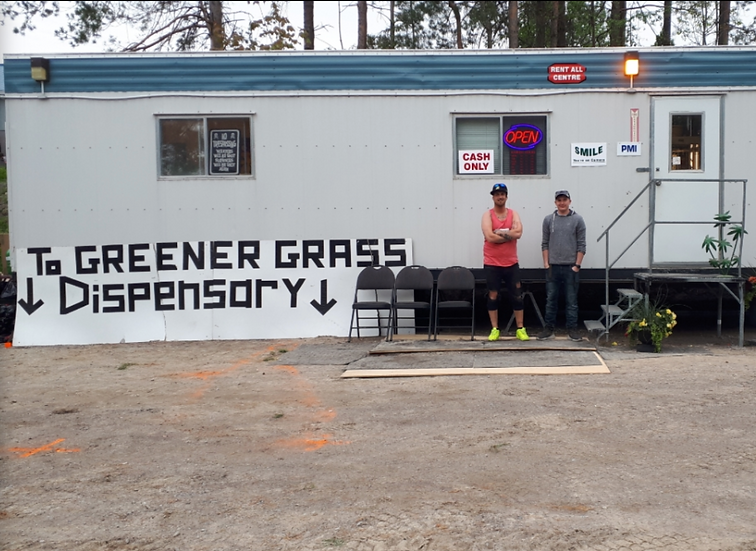 To Greener Grass Cannabis Dispensary - Roseneath, ON