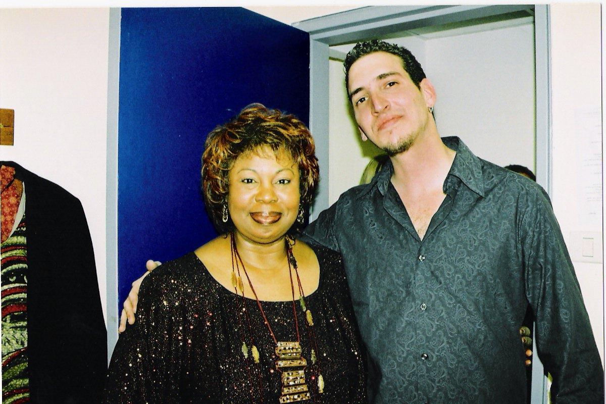 Tour with singer Deborah Brown 2003