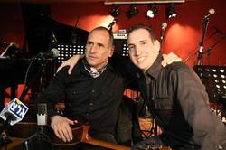 With David Broza