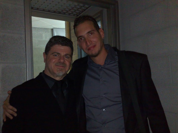 With Producer Gustavo Santaolalla